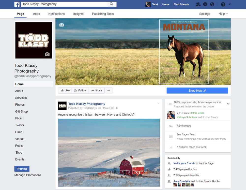 Facebook-Front-Page-for-Todd-Klassy-Agriculture-Photographer