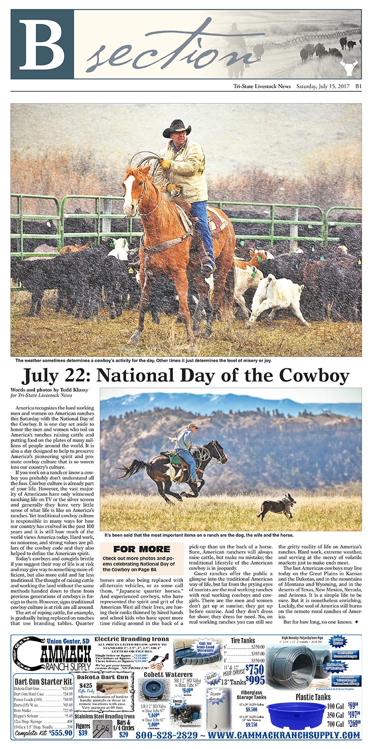 Cowboy-Photos-Published-in-Tri-State-Livestock-News-Magazine-Stock-Photography