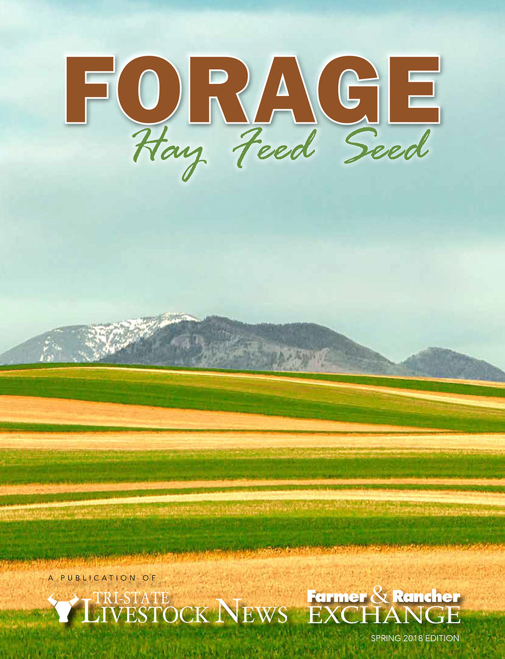 Agricultural Landscape Photo of Strip Crops Appears on Cover of Forage Magazine