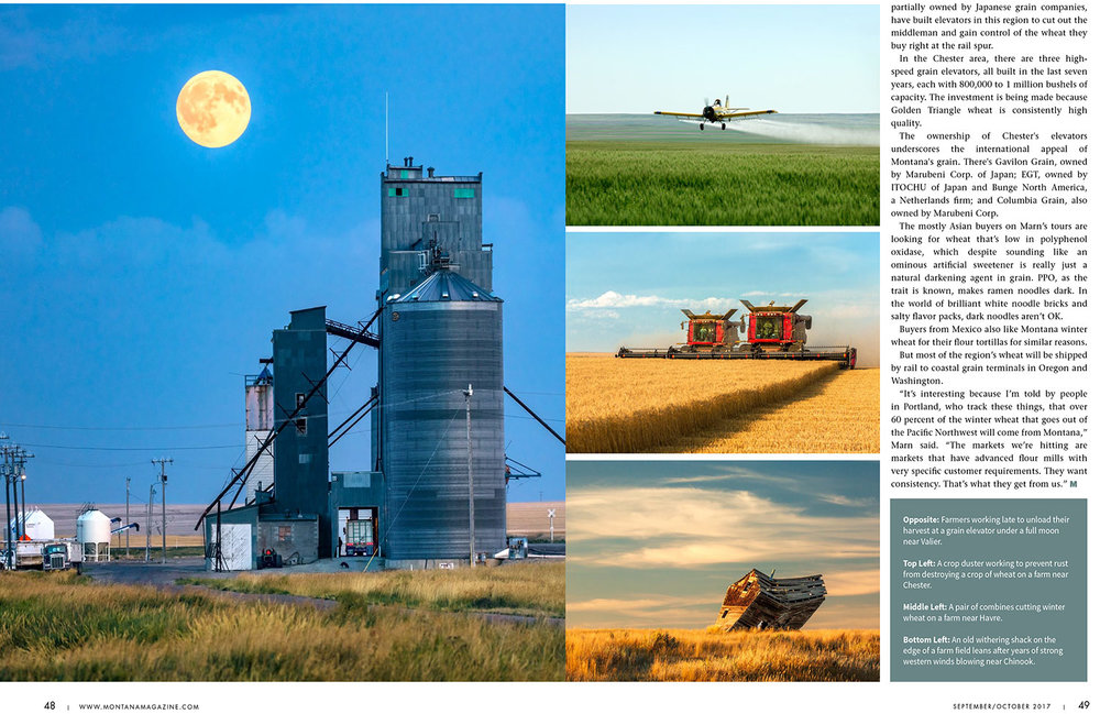 Agriculture Photos of Montana's Golden Triangle