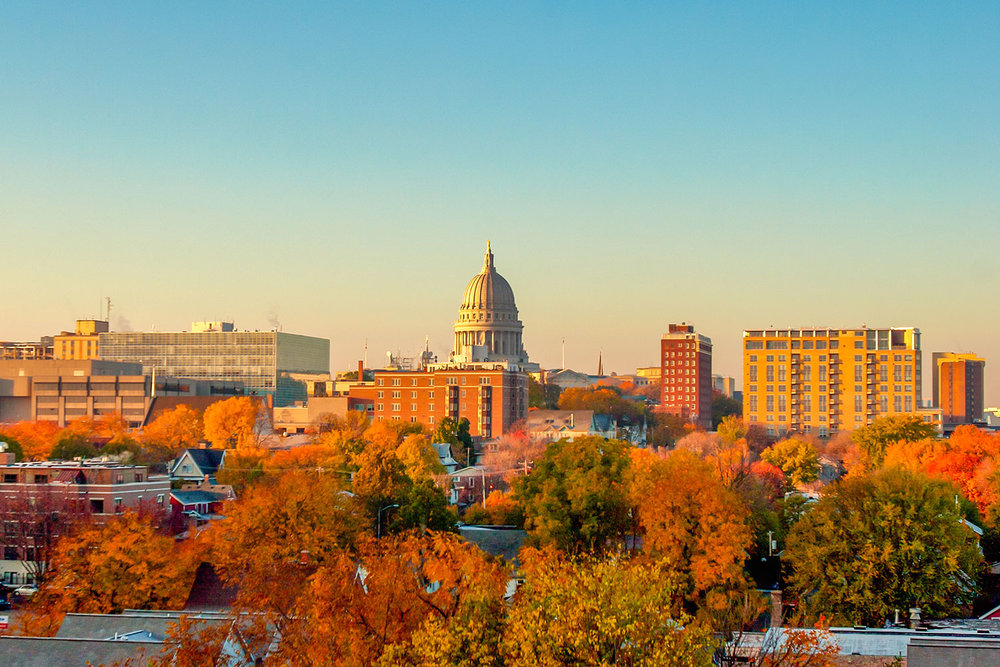 Madison Autumn Skyline