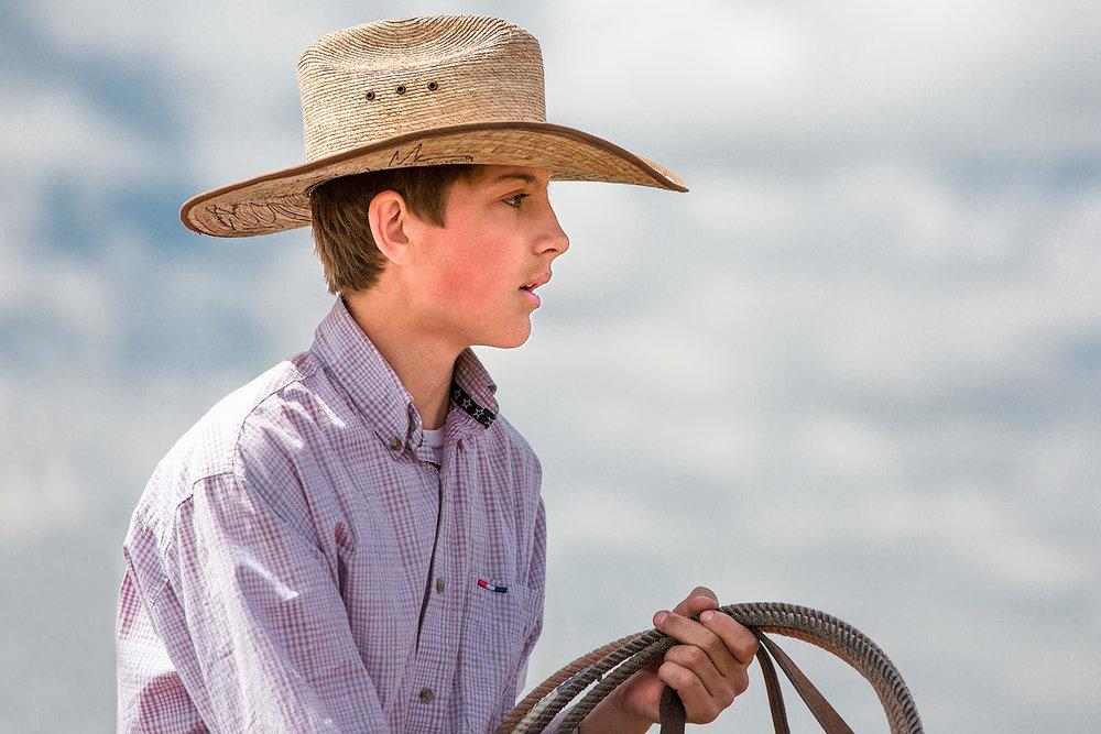 Young Cowboy Portrait