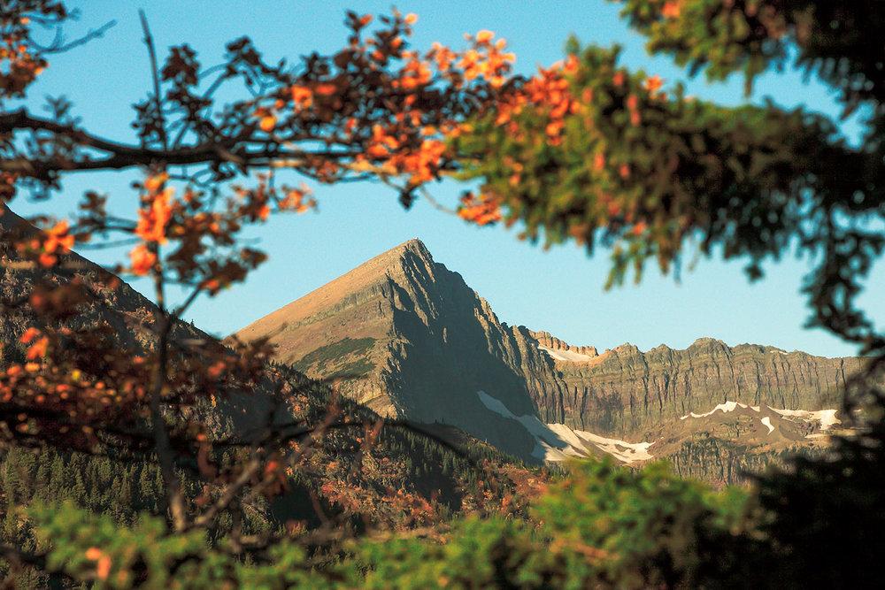 Glacier National Park Autumn