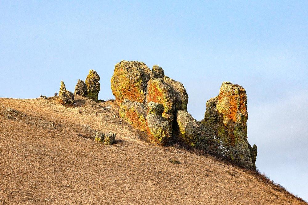 Strange Rock Formation