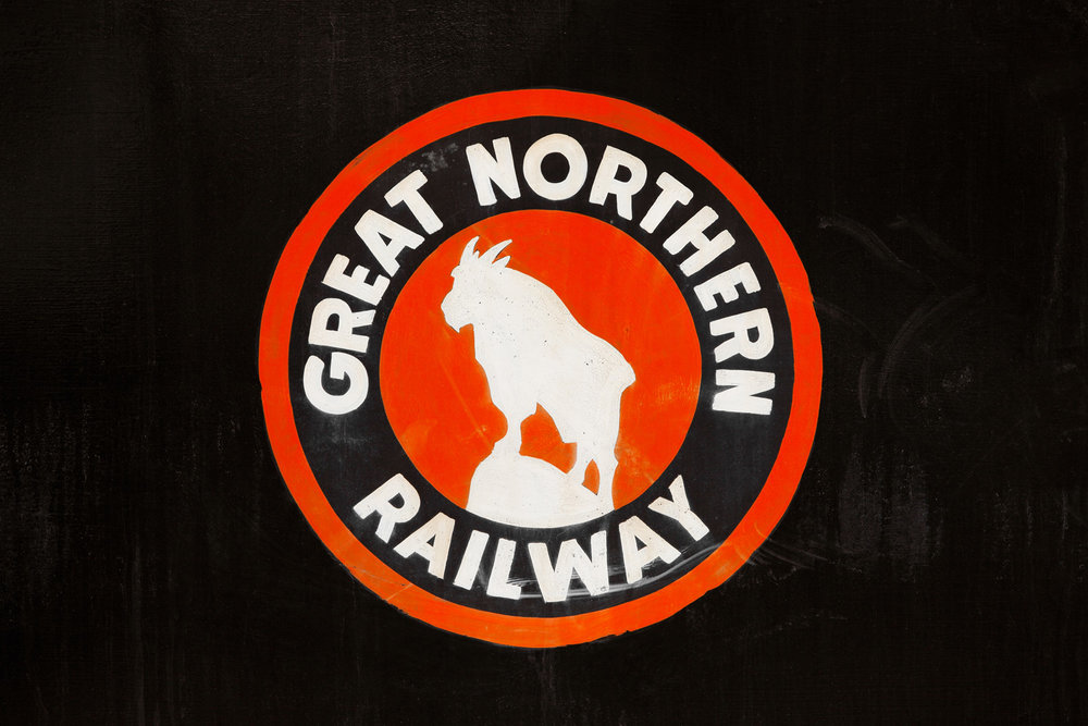 Great Northern Logo on Black