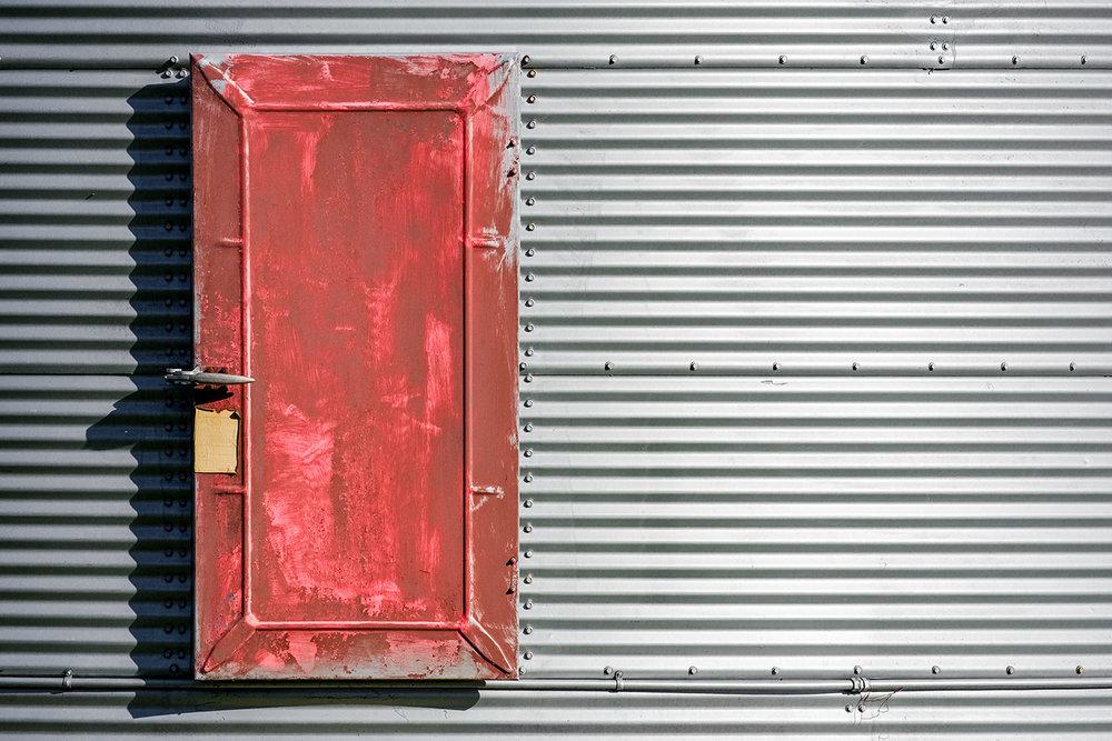 Bin Door