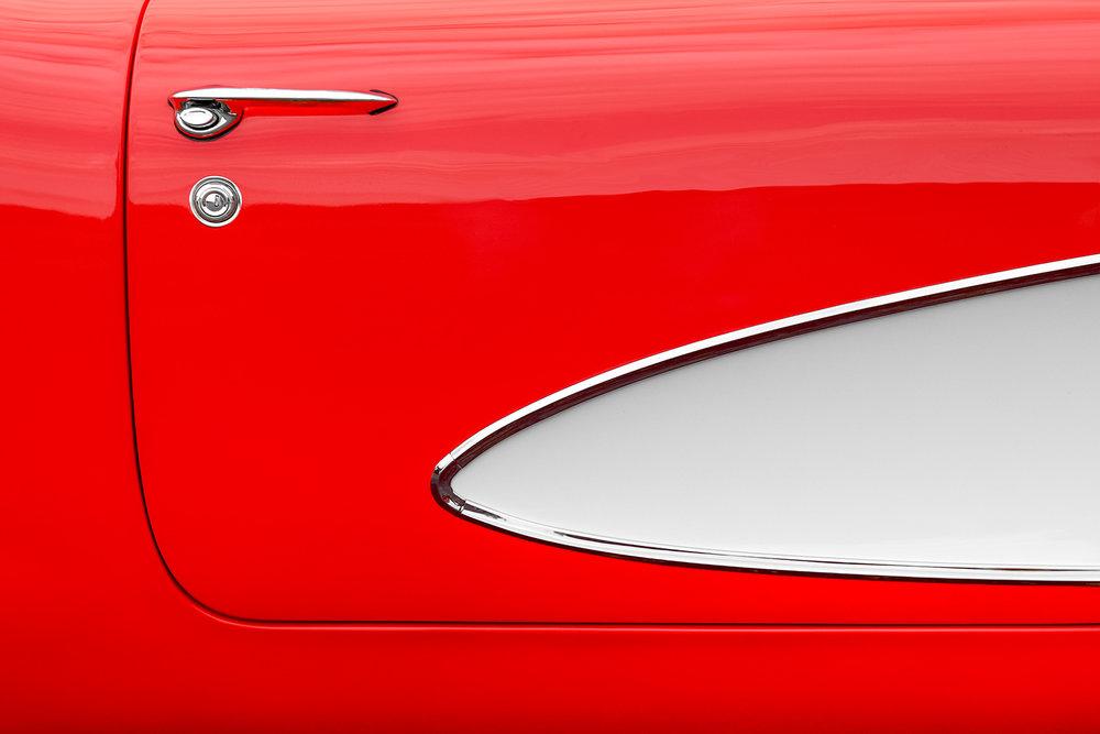Roman Red Corvette