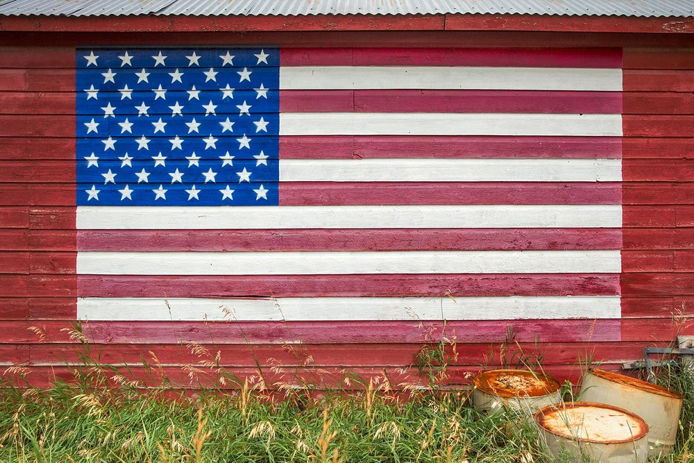Barn Side Flag