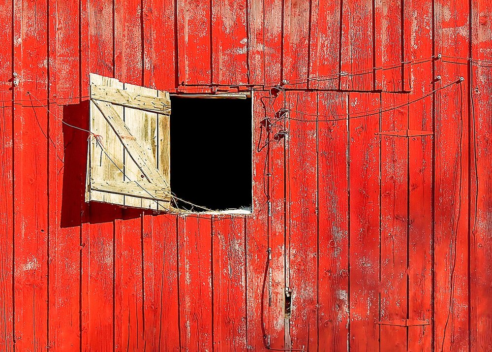 Barn Door Open