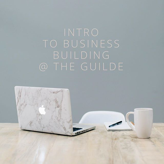 Join The Guilde tonight from 6 to 8 pm for our first business building night with our very own Madeline Fraser. Follow the link in our bio for details. #theguilde #womenbusinessowners  #womenempowerment #womensupportwomen