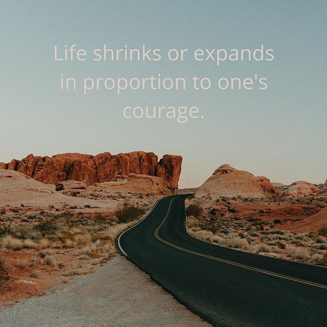 Exploring the theme of courage this week at The Guilde. This Anais Nin quote reminds us of a truism: the bolder we are, the more expansive our lives become. Let's all do something courageous this week. #courage #theguilde #laforcedesfemmes #bravewomen #boldwomen #womensupportwomen
