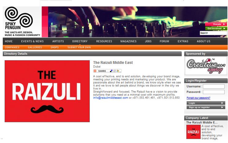 The Raizuli x Spiky Penguin