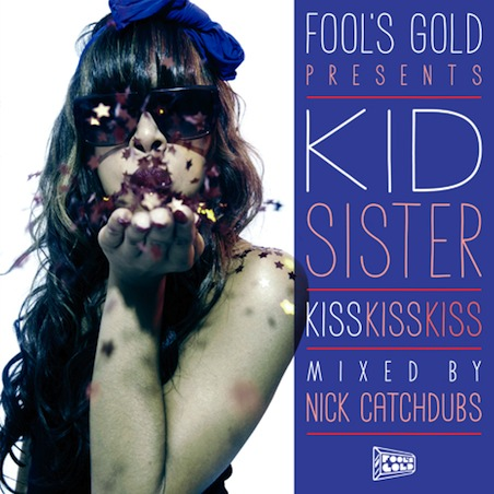 NEW MIXTAPE FROM   KiD SiSTER      I am always down with good female MC's and Kid Sister is definitely one of them. There is a lot of good hip-hop coming out of Chicago. One of my favorite rap groups in recent years has had to be   The Cool Kids .  I went to college in the mid-west, and  The Cool Kids  being from Chi-town have a great way of reminding me about the fun things life has to offer. College was quite possibly one of the best times in my life, and their song   Basement Party   captures the essence of those Friday night college house parties. It was around this time when I got into hyphy, high-top-kicks, and girls with outlandish nail-art. When A-traks, Fools Gold Label released  Pro-nails  I was all about it. Kid Sister was a damn good rapper, and she seemed to be all about the fun behind the music. Now, Fools Gold has released a free mixtape from Kid Sister called   Kiss Kiss Kiss .  Give it a listen. If you own an SUV, I say pop this in your CD player and bump it. If you are from Chi-town, do your city a favor and support good music by downloading this shit and playing it out loud. Props to the mid-west.