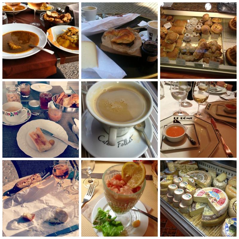 My diet in France, September 2013.