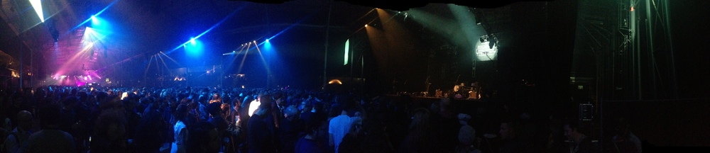 panorama of the venue