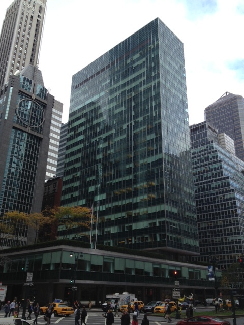The Lever House on 53rd Street