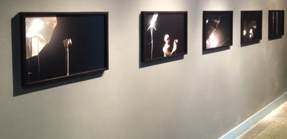 Five c-prints displayed at the Old School, Soho, NY.