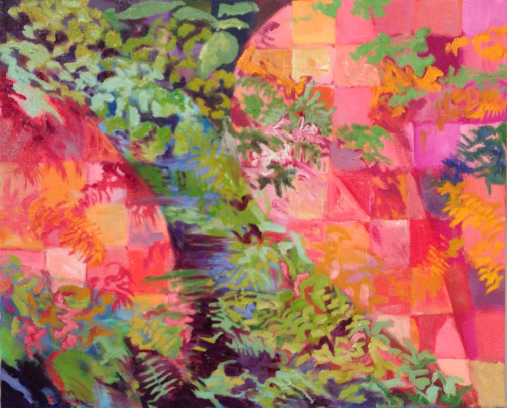Dein warst mein Herz. Oil on canvas, 2013.