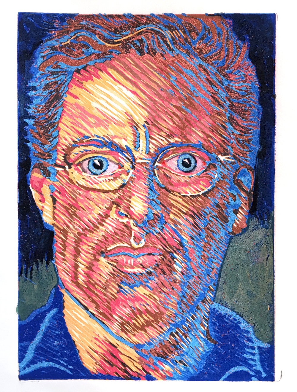 Self-Portrait Blue Boy