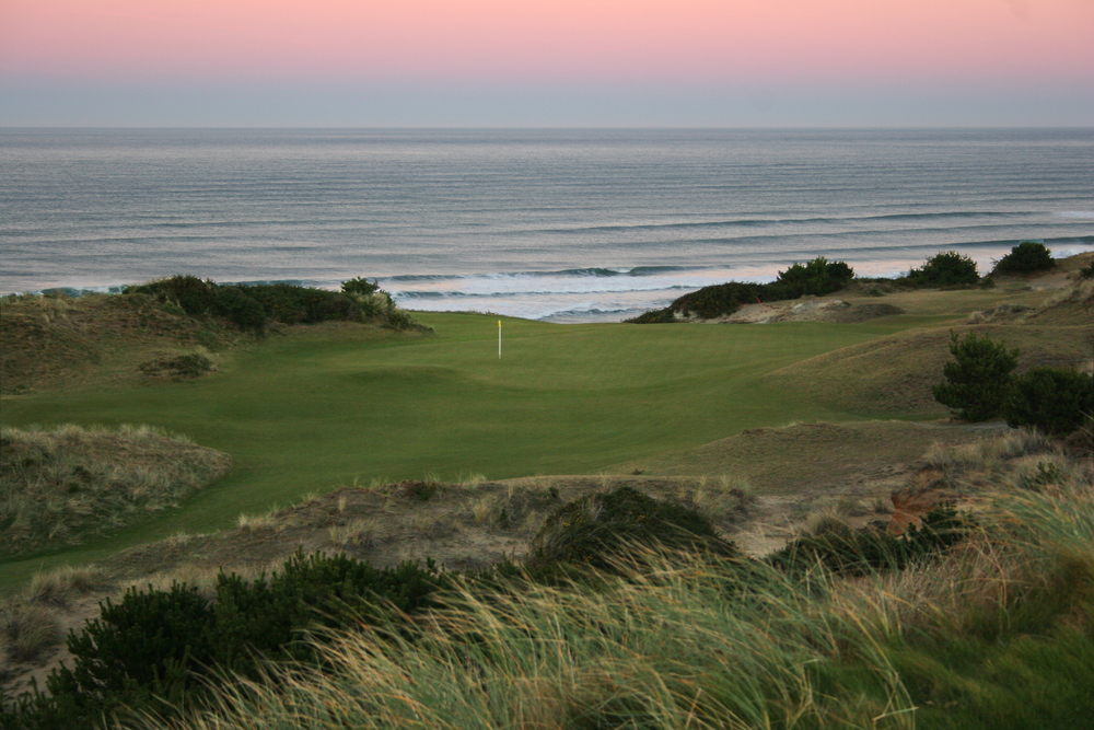Pacific Dunes  - route the course to capture the best vistas