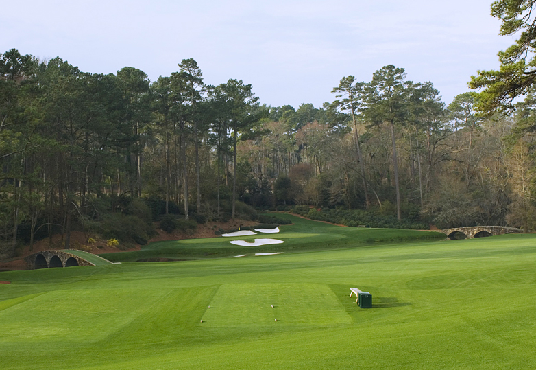 Augusta National  - the greatest courses have variety amongst the par-3 holes (photo by Tom Breazeale)