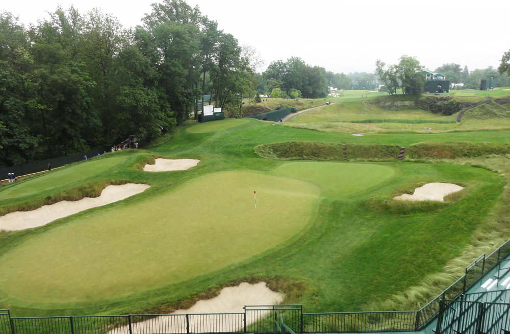 """Merion East  - with creative routing solutions great golf is very possible on a smaller than """"standard"""" piece of land"""