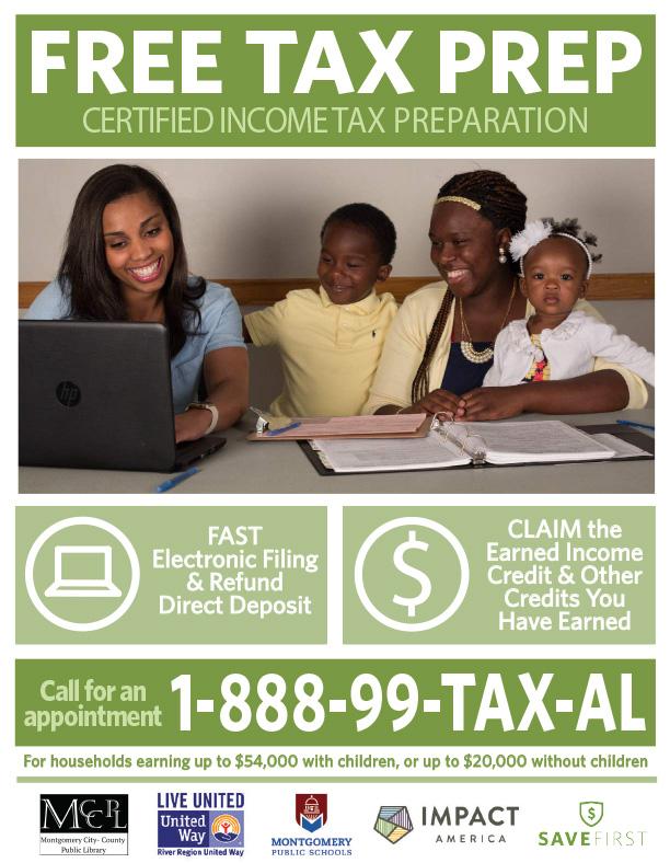 Free Tax Return Preparation Common Ground Montgomery