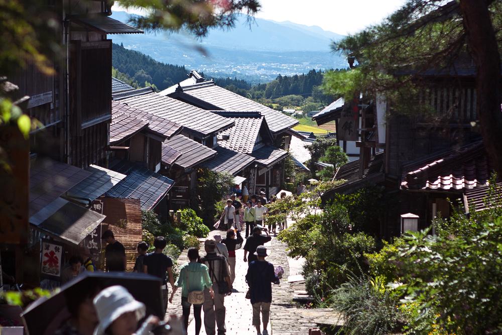 Znalezione obrazy dla zapytania magome tsumago trail