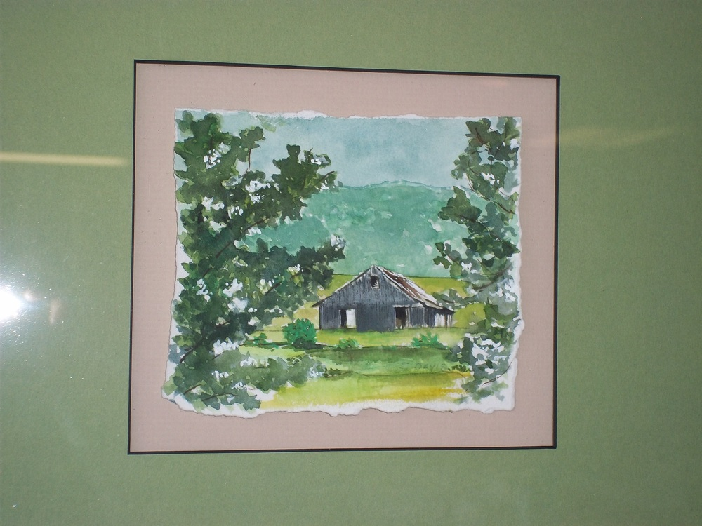 Barn in Green
