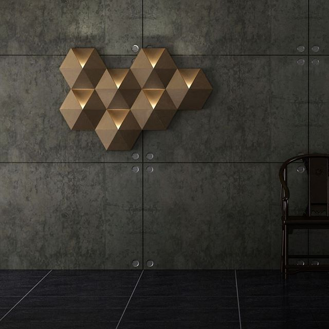 #ambihive modular wall lamp is made entirely from a super lightweight extremely strong #icboard. This project was a collaboration with @nbtstudio for our first ever participation in #salonedelmobile in 2013. • • • #milandesignweek #isaloni #salonesatellite #designstudio #lampdesign #lightingdesign #lightdesign #walllamp #industrialdesign #productdesign #designer #design #designexhibition