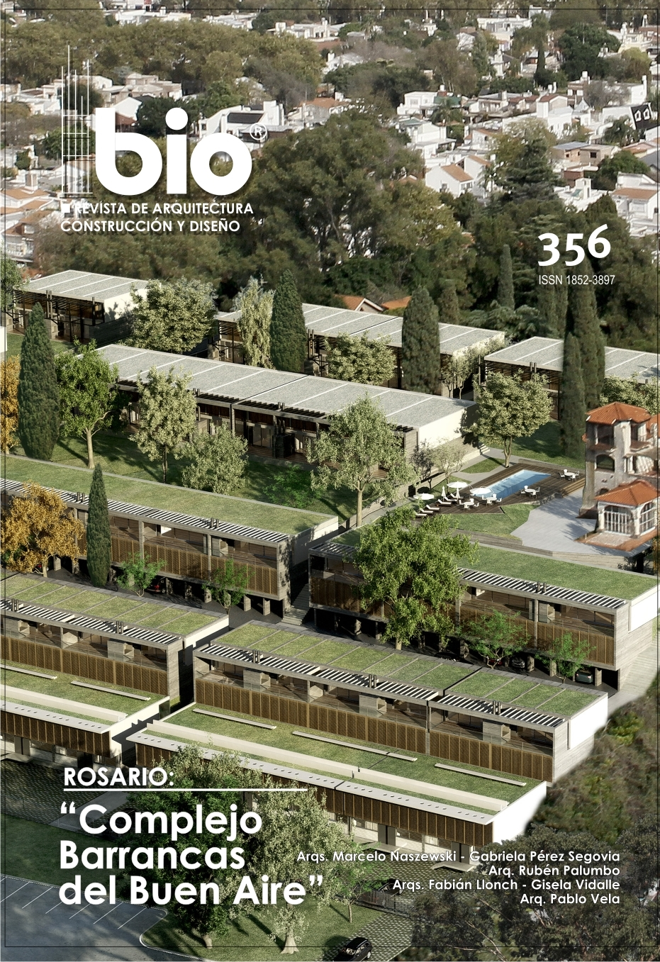 Tapa Revista BIO #356 / Cover BIO Magazine #356
