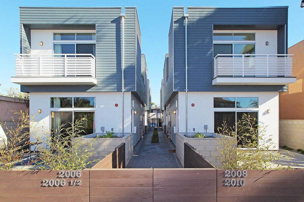 Project Type:   Multi-Family Residential comprised of 4 homes.   Location:  Los Angeles, CA Cienega Heights   Status:  Built, 2014