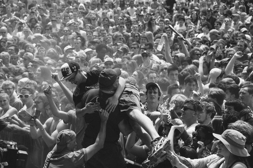 Crowd Pitchfork Chicago, 2014