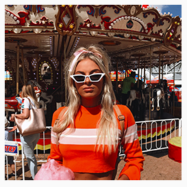 @hannah_perera for The Royal Easter Show Influencer Campaign by Hazal Alkac