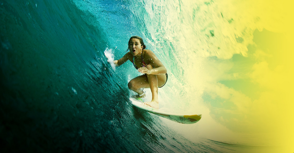 Mega proud to have worked on this story with Red Bull's worldwide agency. On reigning world surfing champ/all-round legend, Carissa Moore.