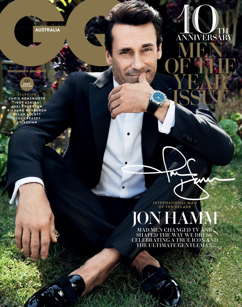 GQ Australia, Dec-Jan 2017, cover story