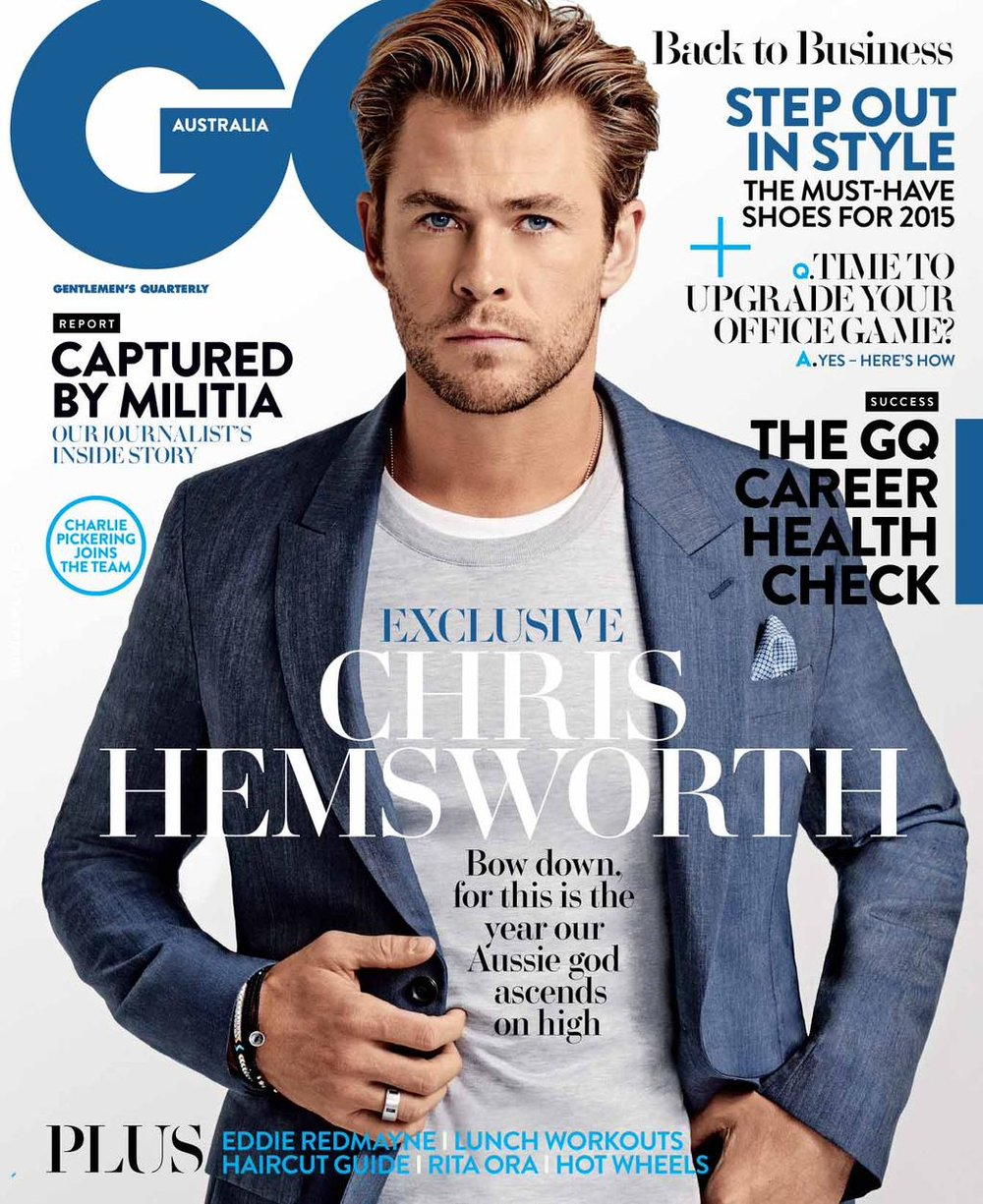 Cover story,  GQ Australia,  Feb 2015.