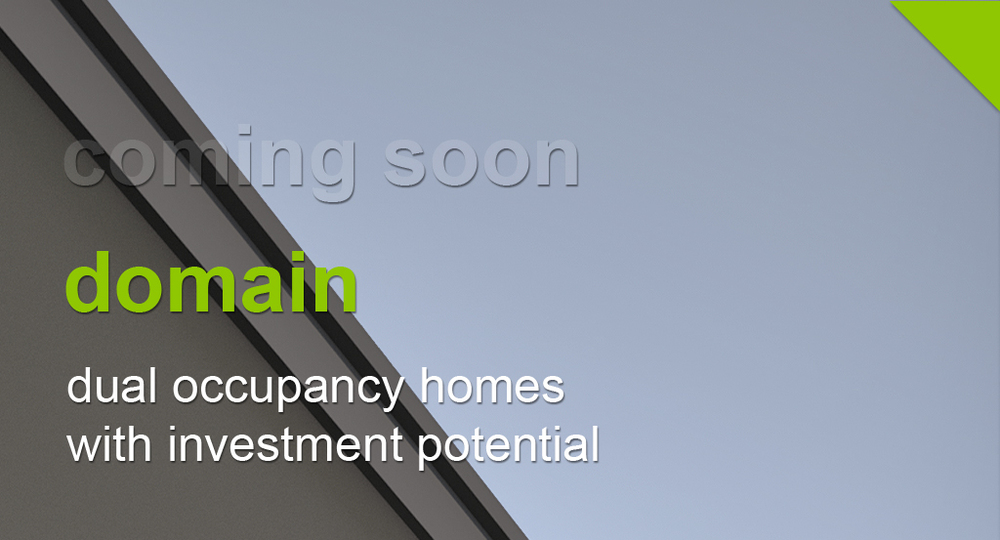 dual occupancy homes with investment potential