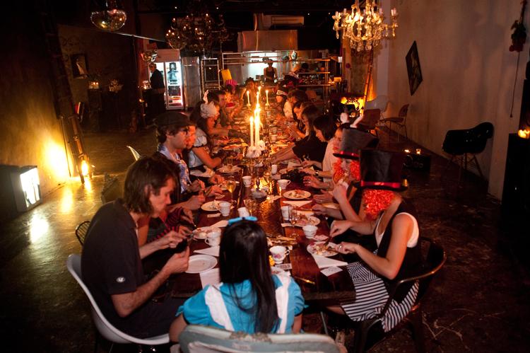 Long table event @ Studio Neon