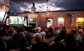The Local Taphouse Rooftop Cinema