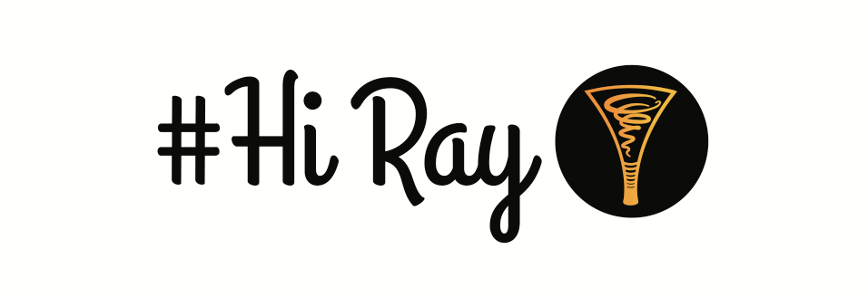 hi ray logo long