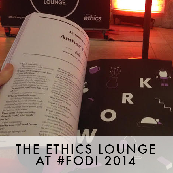 The Ethics Lounge at Festival of Dangerous Ideas