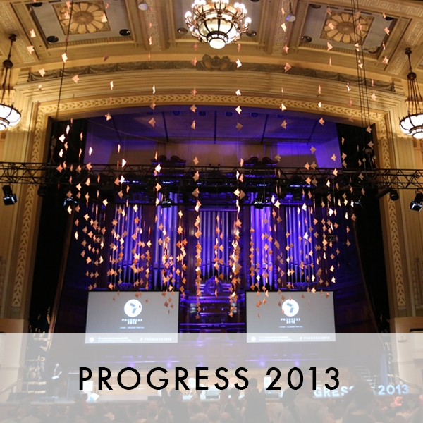 Progress 2013 Progress 2015
