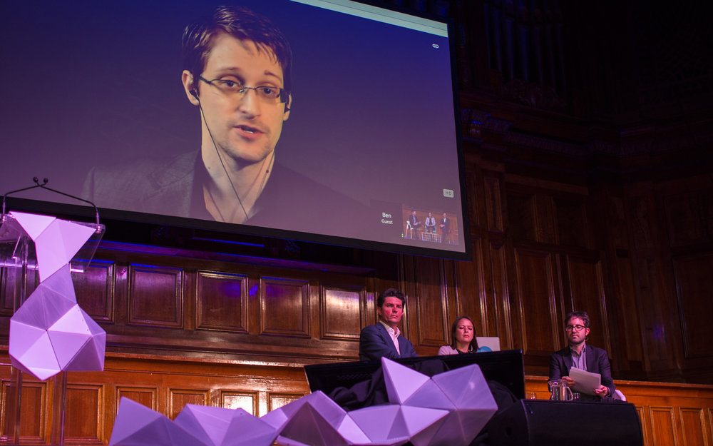 Edward Snowden Progress 2015
