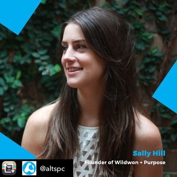This is going to be a great event! Hear from our founder, @sallyrhill, and a stellar line-up of other entrepreneurs. It's happening on 19 October in Sydney. Repost from @altspc: How do you survive the first 12 months of starting a business? 🤔🤓💪 Come find out from Sally Hill - founder of experience design + event company @wildwonprojects and the driving force behind the renowned @purpose_do conference. Sally will be sharing her knowledge and start-up stories at our @sparkfestivalau event. We've teamed up with @ga_sydney, so it's sure to be a good night! Grab your tickets now to 'Jumping In The Deep End'. Link in @altspc's bio.