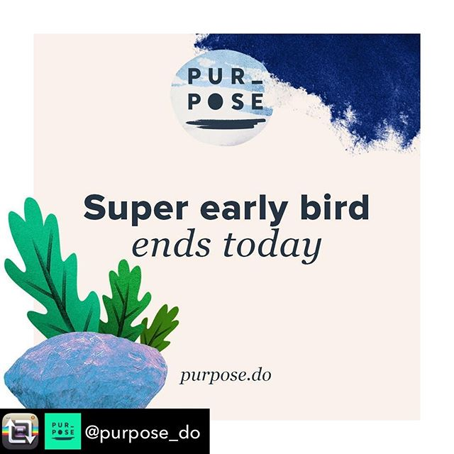 "Come along to #Purpose2018. We'd love to see you there.😊Repost from @purpose_do: Super early bird for #Purpose2018 ends today. Jump in now before tickets jump up by $200. You can also take up the option to pay in instalments until February. And...if you need a reason to convince yourself or your boss that you should be at Purpose next February this is what Tim O'Brien from @hatched_io says about it: ""There is so much happening at Purpose. So many amazing people to meet, conversations, music, a few surprises and of course amazing speakers. Every session is packed with interesting information, learnings, failures and great supportive debate. Attending Purpose gives me that injection to go back into the business world and continue to transform it."" Thanks Tim. 😊🙏 Buy your ticket at www.purpose.do. #purpose #purposedrivenbusiness #sydneyevent #craftedbywildwon #notforprofitaustralia #socentau #startupaus"