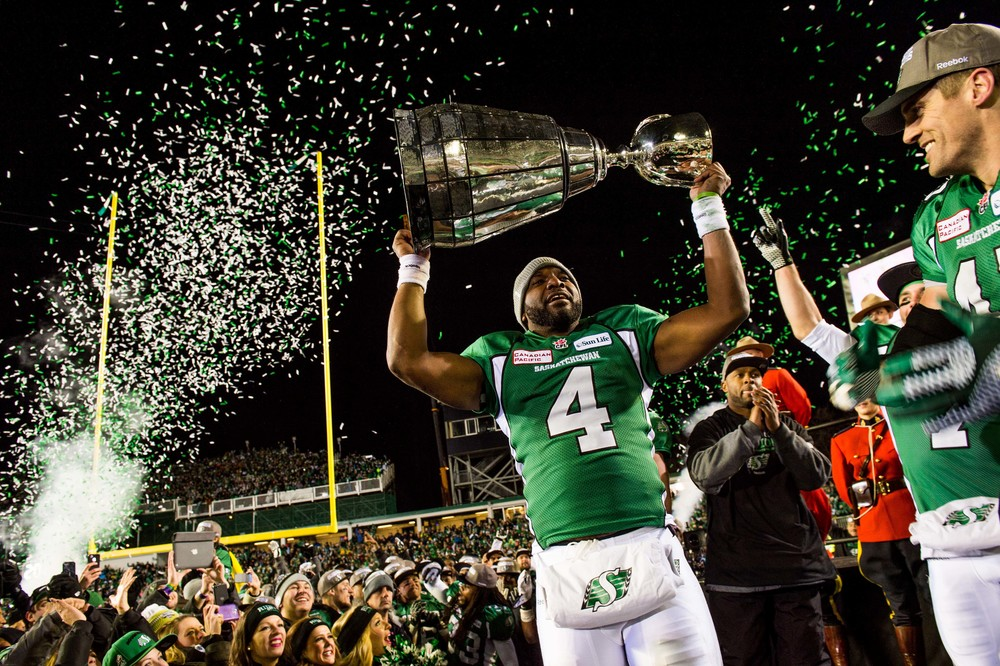 CFL Saskatchewan Roughriders, Hamilton Tiger-Cats Darian Durant, Grey Cup