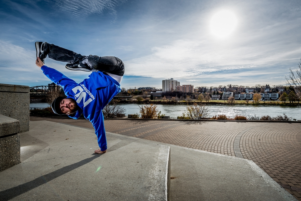 Saskatoon Breakdancing Stephan Neechie Gear Hoodie