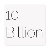 10 Billion presentations are created every year (conservative estimate)