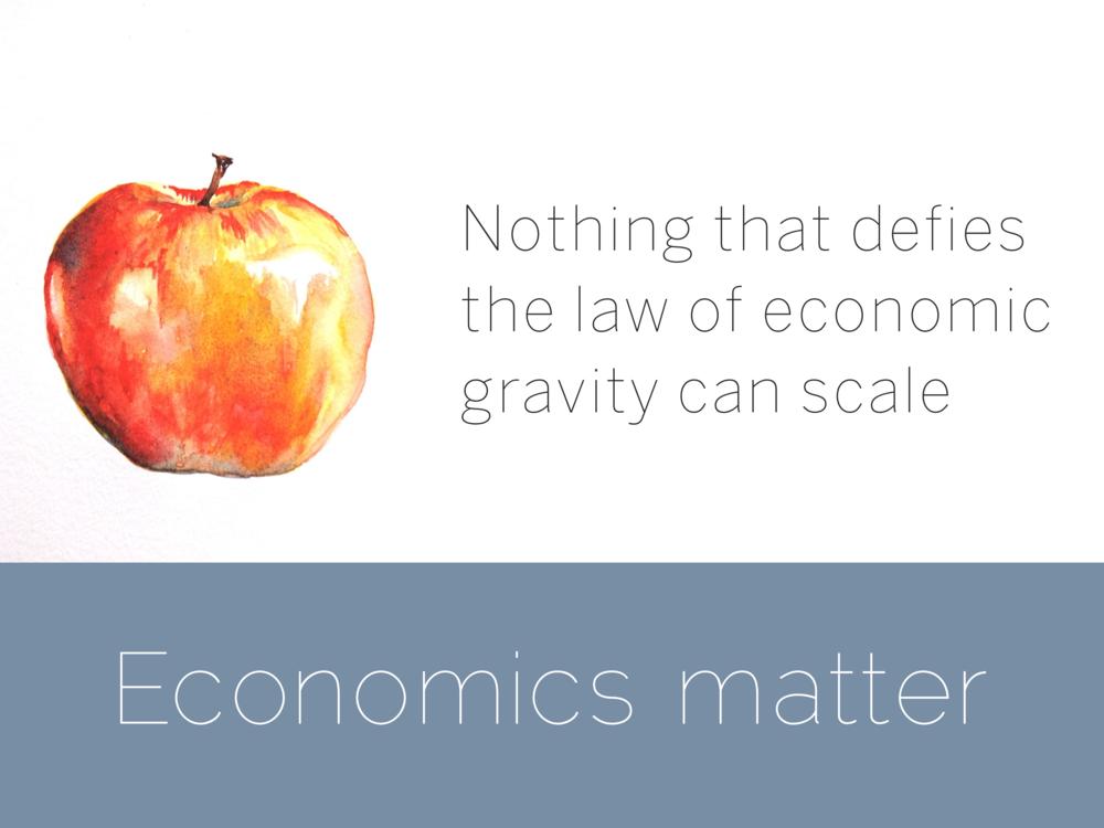 Economics matter